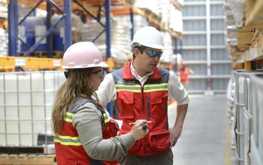 Marco Riquelme, Plant Supervisor, Santiago Brenntag Chile