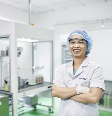 Nguyen Thuy Diem Phuong, Senior Lab Technician, Brenntag Vietnam