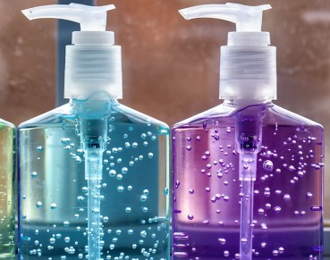 Chemist working in industrial laboratory